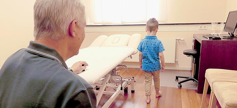 zeitnahe Termine auch bei Kinderorthopädie