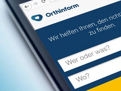 """""""Orthinform"""": Einfache Arztsuche für Orthopädie"""
