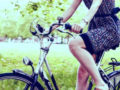 Die ideale Sitzposition auf dem Fahrrad